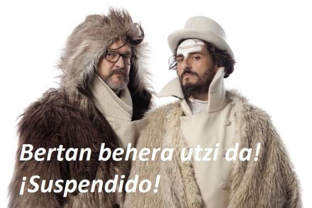 Mastodonte · Asier Etxeandia & Enrico Barbaro · SUSPENDIDO